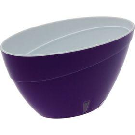 Горшок Santino Калипсо 3,3л фиолетовый-белый в Симферополе