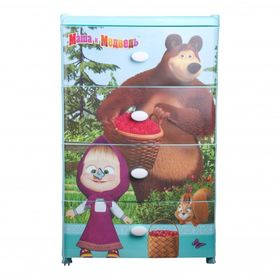 Комод Альтернатива М7251 4-х Маша и Медведь в Симферополе