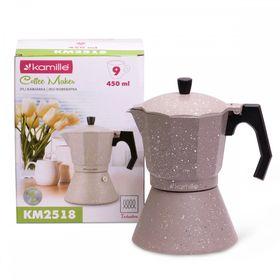 Кофеварка Kamille 2518 гейзерная 450мл (индукция) в Симферополе