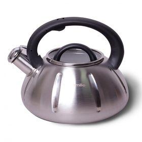 Чайник Kamille 0671А со свистком 3л черная ручка в Симферополе