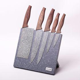 Набор ножей Kamille 5045 на подставке 6 в Симферополе
