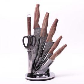 Набор ножей Kamille 5149 на акриловой подставке 8пр нержавейка в Симферополе