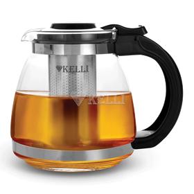 Чайник Kelli 3090 завар. стекл. 1,5 л в Симферополе