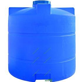 Ёмкость вертикальная Пласт Бак 313 4000л синяя В185хД170 в Симферополе