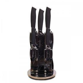 Набор ножей Kamille 5131B на акриловой подставке 6пр из нержавеющей стали в Симферополе