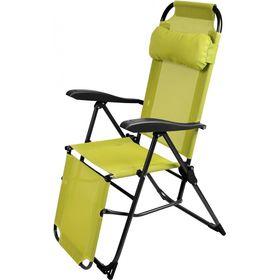 Кресло-шезлонг Ника 3 К3/Л с подножкой Лимонный в Симферополе