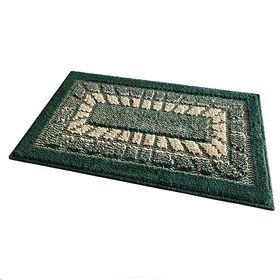 Коврик Shahintex 52 универсальный в прихожую Мозаик 45x75 зеленый в Симферополе