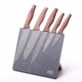 Набор ножей Kamille 5046 на подставке 6 ножей и подставка в Симферополе