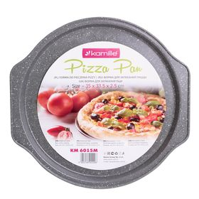 Форма Kamille 6015М для выпечки пиццы 35х33,5х2,5 см в Симферополе
