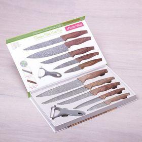 Набор ножей Kamille 5043 5шт и овощечистка в Симферополе