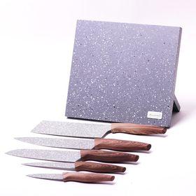 Набор ножей Kamille 5047 5шт и подставка в Симферополе