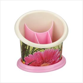 Стойка Альтернатива Цветочный блюз М2267 для столовых приборов в Симферополе