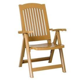 Кресло Siesta 030 Pasha раскладное тиковое в Симферополе