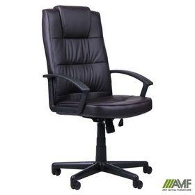 Кресло AMF Атлас HB кожзам черный в Симферополе