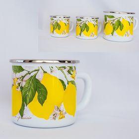 Молочник Caprice 299-1700 Эмаль 1,7л Лимоны в Симферополе