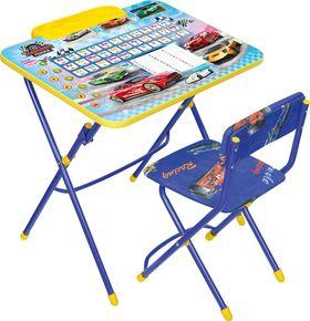 Комплект детской мебели Ника КУ2П/15 Большие гонки с пеналом в Симферополе
