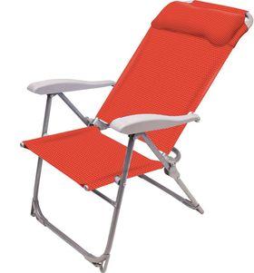 Кресло шезлонг Ника К2 складное 2 Гранат в Симферополе