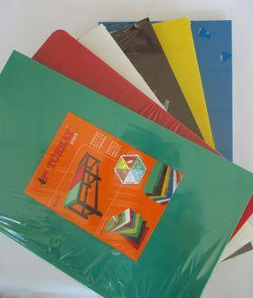 Блок разделочный Turkay Plastik 30x50x2 красный плоский в Симферополе