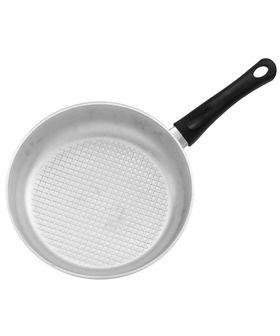 Сковорода Биол А241 пласт. ручка с крышкой рифленное дно Д240 в Симферополе