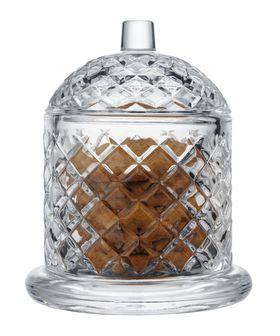 Сахарница Alegre Glass 54530 ПУ с крышкой 10 см в Симферополе