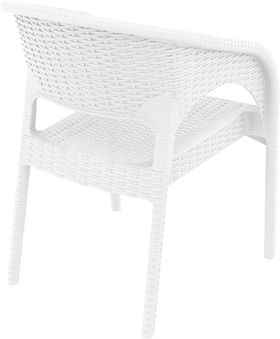 Кресло Siesta 808 Panama белое в Симферополе