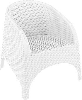 Кресло Siesta 804 Aruba белое в Симферополе