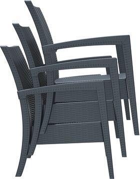 Кресло Siesta 850 Miami темно-серое в Симферополе