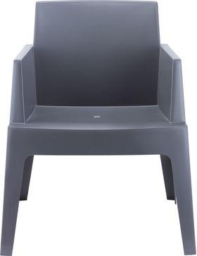 Кресло Siesta 058 Box темно-серое в Симферополе
