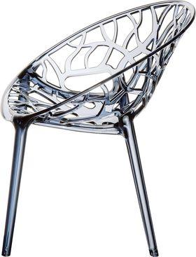 Кресло Siesta 052 Crystall темное прозрачное в Симферополе