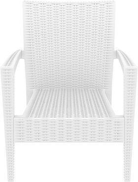 Кресло Siesta 850 Miami белое в Симферополе