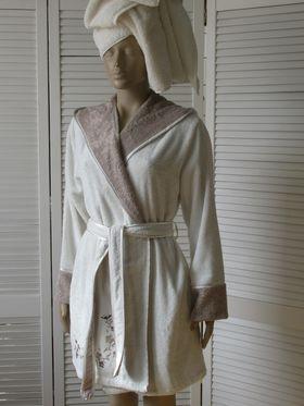 Халат Ozer 6302 женский XL крем (1402) в Симферополе