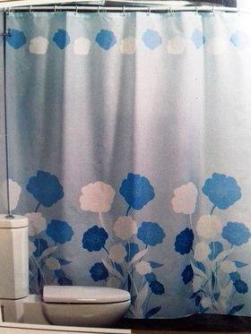 Штора для ванной Harput Miranda 19117 тканевая 1-я 180х200 гол. в Симферополе