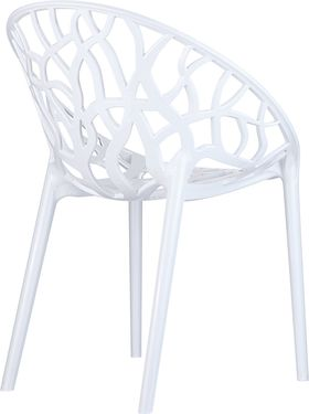 Кресло Siesta 052 Crystall белое в Симферополе
