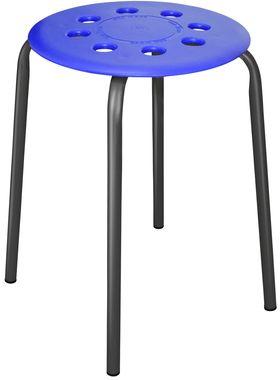 Табурет Ника ТП01 пласм сид. 4-х опорах синий в Симферополе
