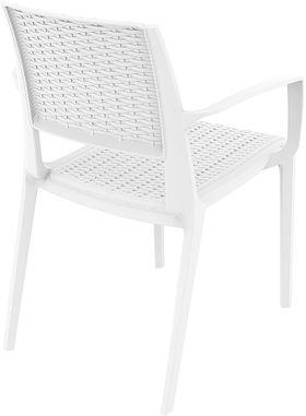 Кресло Siesta 820 Capri белое в Симферополе