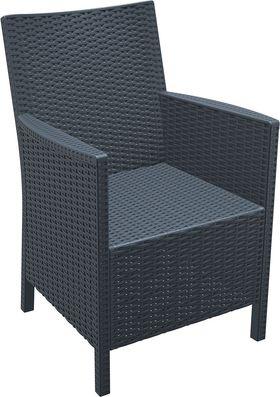 Кресло Siesta 806 California темно-серое в Симферополе