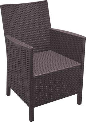 Кресло Siesta 806 California коричневое в Симферополе
