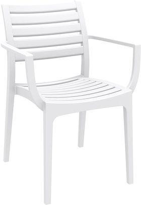 Кресло Siesta 011 Artemis белое в Симферополе