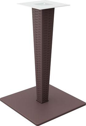 Ножка стола Siesta 890 Riva раттан+алюм. коричневая в Симферополе