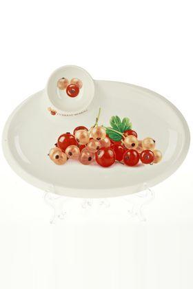 Блюдо Best Home Porcelain 0600084 Спелая смородииа 30х22х3см в Симферополе