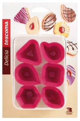 Форма Tescoma 630933 Delicia для современного печенья 6 шт в Симферополе