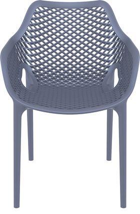 Кресло Siesta 007 Air XL темно-серое в Симферополе
