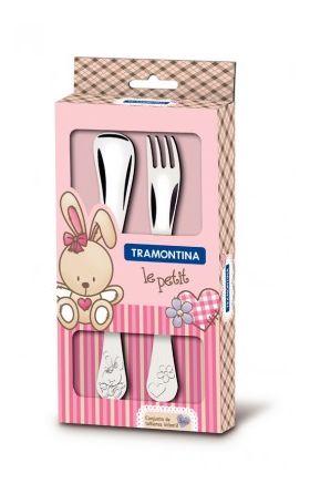 Набор столовых приборов Tramontina 66973/015 Baby 2пр. Дет. стол.приб дев в Симферополе