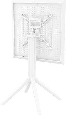 Стол Siesta 114 Sky складной 60x60cm белый в Симферополе