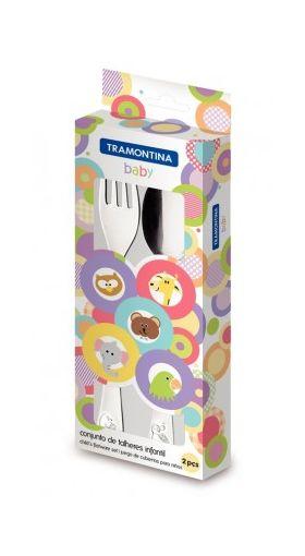 Набор столовых приборов Tramontina 66970/030 Baby 2пр. Детские столовые приборы в Симферополе
