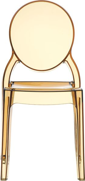 Стул Siesta 034 Elizabeth оранжевое прозр. в Симферополе