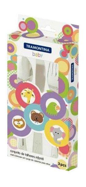 Набор столовых приборов Tramontina 66970/020 Baby 3пр. Детские столовые приборы в Симферополе