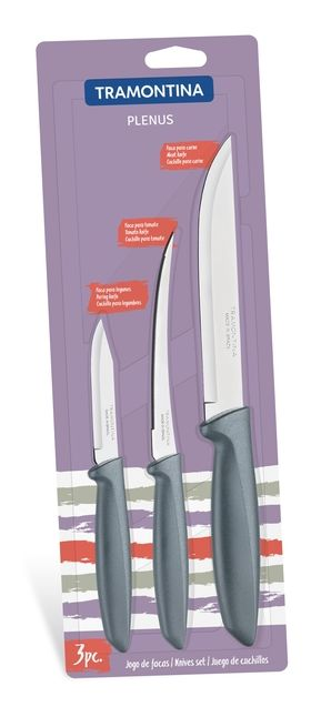 Набор ножей Tramontina 23498/613 Plenus набор 3 шт в Симферополе